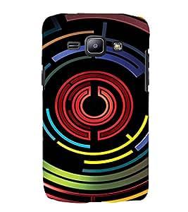 EPICCASE Power Up Mobile Back Case Cover For Samsung Galaxy J1 (Designer Case)