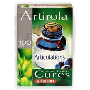 Super diet - Artirola - 100 comprimés - Bien-être et souplesse des articulations