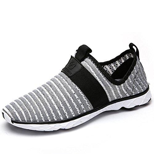 Men's Mesh Breathable Zapatillas Deportivas Hombre Running Shoes men gray