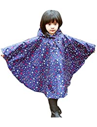Niños Ponchos lluvia Outwear abrigo impermeable ropa de deportes al aire libre ropa Rainwear