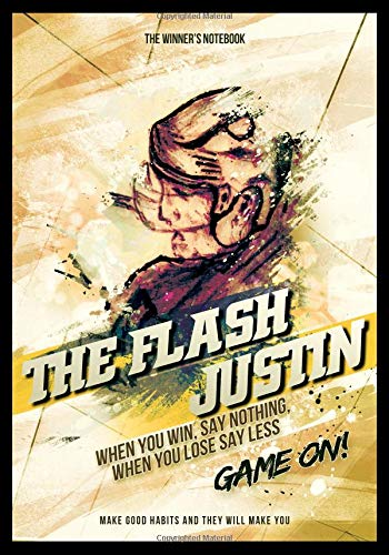 The Flash Justin, When You Win, Say Nothing, When You Lose, Say Less: The Winner's Notebook (Inspirational Hockey) por Lemieux Gretzky
