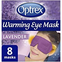 Optrex Warming Eye Mask, Lavender, Pack of 8