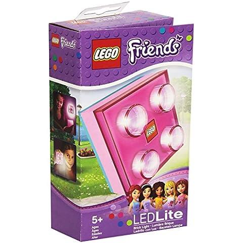 Lego Lights Friends - Lámpara led, diseño de pieza de Lego