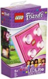 Lego Lights Friends - Lámpara led, diseño de pieza de Lego