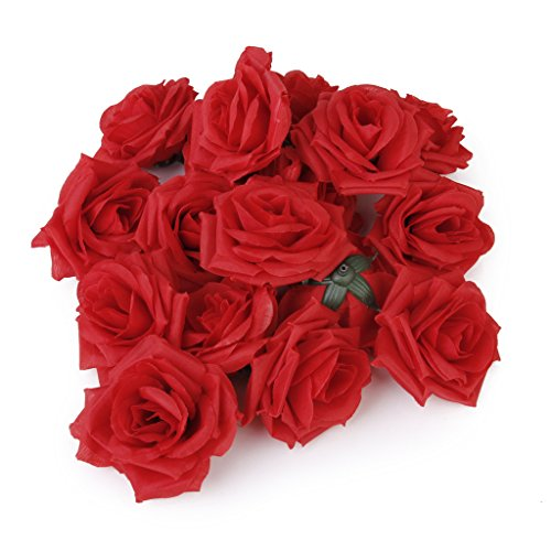 20pcs-artificial-rose-flower-heads-craft-home-wedding-christmas-party-decoration-red