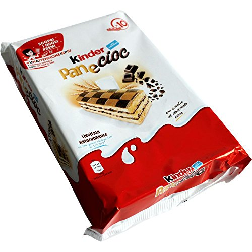 Kinder PaneCioc Süssbrotschnitte mit Schokoladenfüllung (300g Packung)
