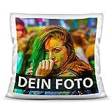 Tassendruck Foto-Kissen zum Selbst gestalten (40x40 cm)...
