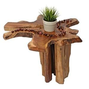 Couchtisch beistelltisch wohnzimmertisch holz exclusiv for Piccoli oggetti in legno fatti a mano