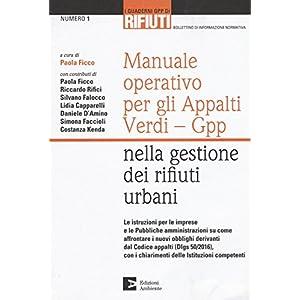 Manuale operativo per gli appalti Verdi-Gpp nella gestione dei rifiuti urbani