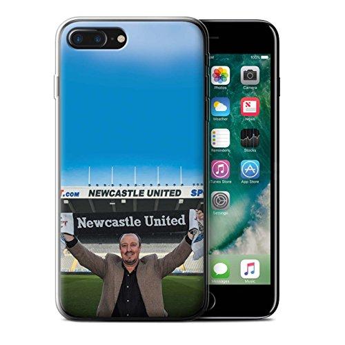 Officiel Newcastle United FC Coque / Etui Gel TPU pour Apple iPhone 7 Plus / Maestro Espagnol Design / NUFC Rafa Benítez Collection Bienvenue