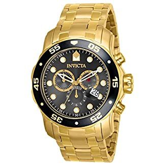 Invicta Chronograph Black Dial Men's Watch – 80064