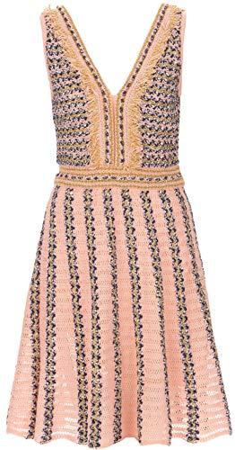 M Missoni Kleid Rosa | Multicolor-38 (M Missoni Kleider Für Damen)