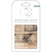 Craft consorcio papel para Decoupage, diseño de Premium–antiguo noticias