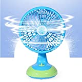Mini Table Fan Free Angle Adjustment USB...