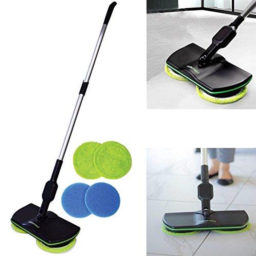 Dobo® mocio elettrico pavimenti straccio lava pavimento rotante ricaricabile scopa