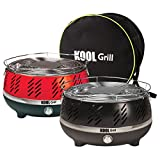 Kool Grill – Portable Outdoor Charcoal BBQ Grill System with Fan for fast heat and BONUS Carry Bag (As Seen on High Street TV)