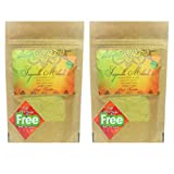 #7: Sugandh Mehndi Double Sifted(Filtered) Rajasthani 100% Natural Henna Powder for Body Art & Hair Conditioning with Free Herbal Mixture inside for Hair Strengthening - Lawsonia Inermis BAQ (Body Art Quality) - 100g X pack of 2