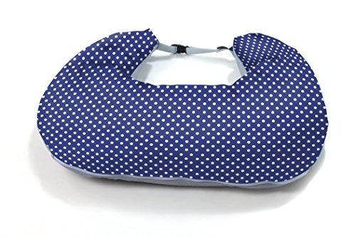 nuvita 5300 Coussin de Soin/l'Allaitement Bleu