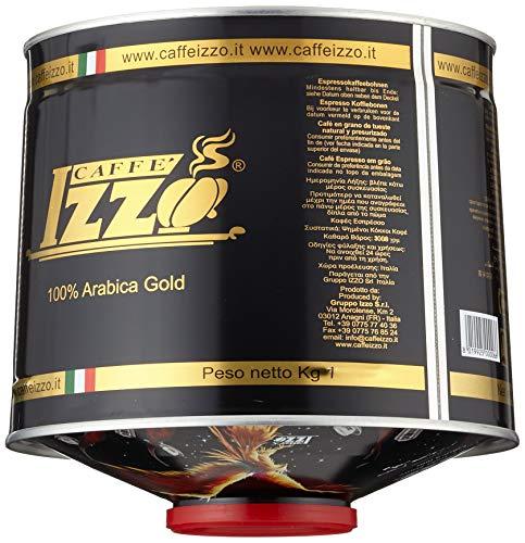 Izzo Caffé Izzo Espresso 100% Arabica Bohnen, 1er Pack (1 x 1 kg) - 3