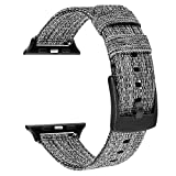TRUMiRR Compatible avec Apple Watch 42mm 44mm Bracelet de Montre Hommes Femmes,...