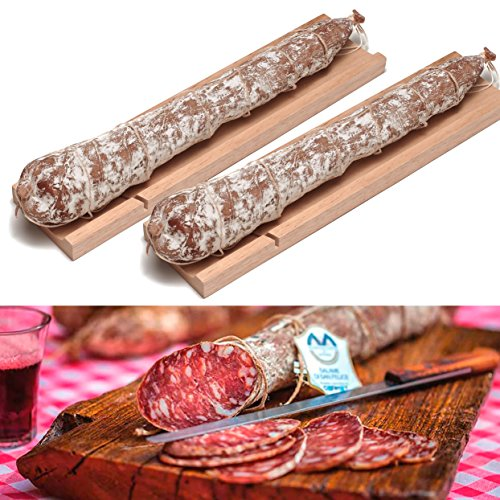 Italienische Emilian Salami – Sweetaly Food Selection – Made In Italy (Packung mit 2 Salami)