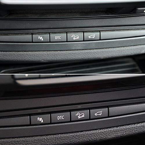 Lorsoul Parken-Sensor-Schalter Taste Abdeckung Ersatz für BMW X5 E70 06-13 X6 E71 08-14 61319414020