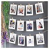 Foto Colgando Monitor - bricolaje Marcos de cuadros Collage Clips y Clavijas para Colgando Las fotos, Estampados y Ilustraciones Residencia universitaria Habitación Navidad Decoraciones