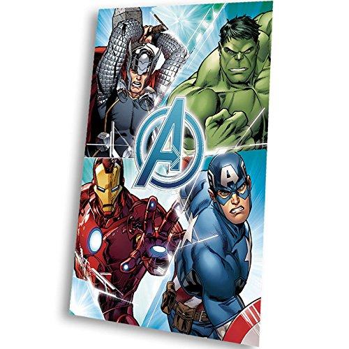 Marvel comics - marvel mv16513 avengers coperta in pile 150 x 100 centimetri.