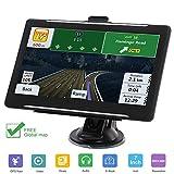 Navigatore GPS 5 Pollici Navigatore Auto Sistema di Navigazione Touch Screen HD per Auto in 24 Paesi