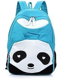 tfxwerws Lovely Panda Forma escuela bolsas de viaje hombro mochila – Celeste