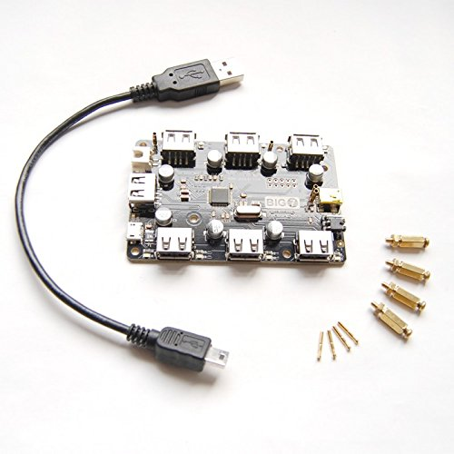 big7: 7-Port MTT USB-Hub für Raspberry Pi (Usb Raspberry Pi Hub)