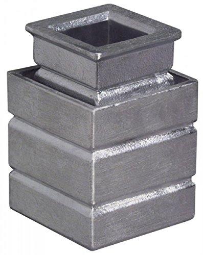 DENI Steinbuchse Höhe 16mm 2-teilig Gusseisen 5842 0016 90 (Home Granit Depot)