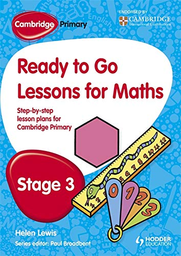 Cambridge Primary Ready to Go Lessons for Mathematics Stage 3
