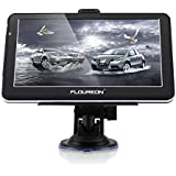 "FLOUREON Navigationsgerät 7"" LCD Touchscreen GPS Navigation SAT NAV Navigator freie EU UK Maps 8GB Speicher für PKW KFZ Auto Car Taxi"
