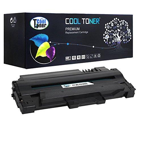 Preisvergleich Produktbild Cool Toner kompatibel Toner fuer MLT-D1052L fuer Samsung ML-1910 1911 1915 2525 2545 2525W 2526 2580N 2581N 2540R, SCX-4600 4601 4623F 4623FW, SF-650 650P 651P, 2500 Seiten, Schwarz