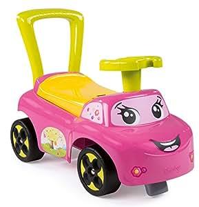 Smoby 443016 - Porteur Auto - Jouet de Premier Age - Rose