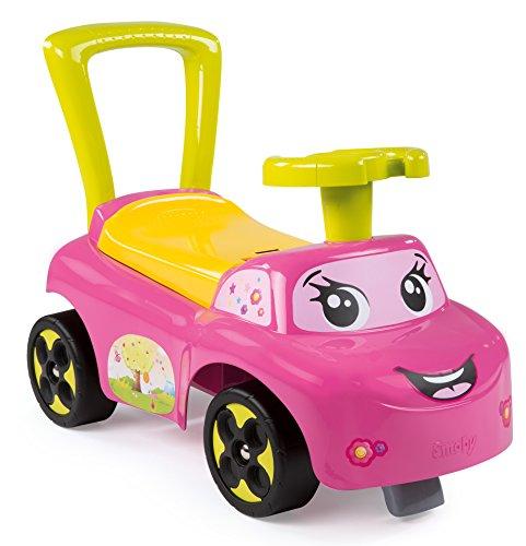 Smoby Toys, 443016, Porteur Auto, Jouet de Premier Age, Rose