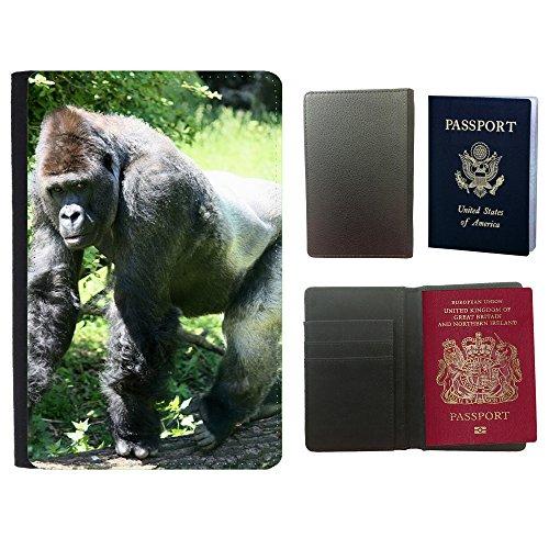 muster-pu-passdecke-inhaber-m00135521-gorilla-ape-grau-weiss-zuruck-back-zoo-universal-passport-leat
