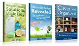 Minimalist Budget: / Clean And Organized / Natural Cleaning Solutions Made Easy - (3 Book Value Pack) Tips To Save Money, Spend Less, Balance Your Budget And Live Happy (English Edition)