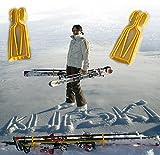 KlipSki - le système de porte skis et bâtons le plus facile et le plus rapide au monde