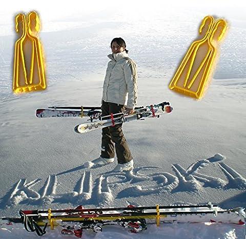 KlipSki - Ski-Carrying System