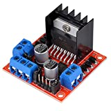 Kuman Mini Stepper Motor Drive Controller Board Module L298N Dual H Bridge DC Stepper for Arduino Smart Car Robot K48