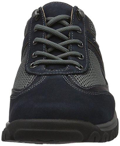 Ganter Gwen, Weite G, Brogues Femme Bleu - Blau (navy / asphalt 3161)