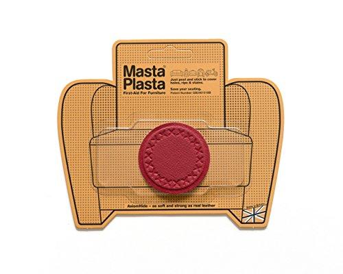 mastaplasta-patch-de-reparation-adhesif-en-cuir-pansement-rouge-taille-s-cercle-5-lingettes-steriles