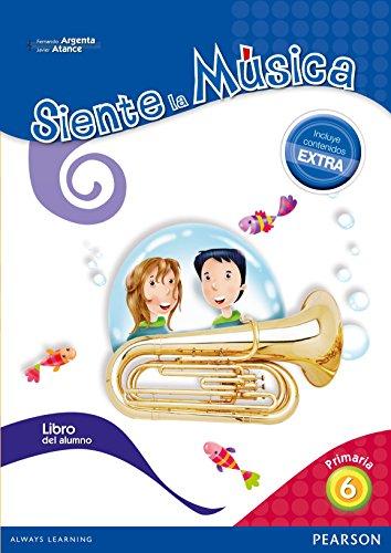 Siente La Música 6. Libro Del Alumno - Edición LOMCE - 9788420564432 por Fernando Martín de Argenta Pallarés