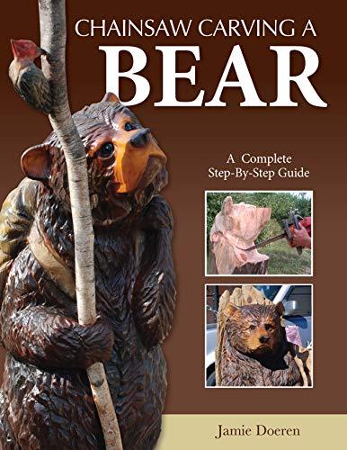 Chainsaw Carving a Bear por Jamie Doeren