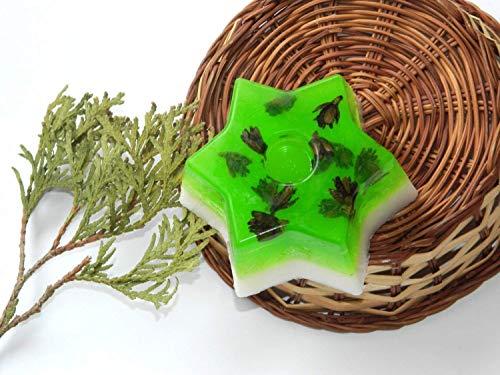 Vegan Seifen Glycerin Natürliche Sterne (Hausgemachte Beauty-produkte)
