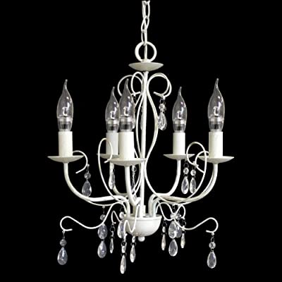 "[lux.pro] Lüster Kronleuchter ""Antique"" [5 x E14 Sockel][40 cm x Ø 44 cm] Kronlampe [Lüster Anschluss] Zimmerlampe Wohnzimmerlampe von [lux.pro] auf Lampenhans.de"