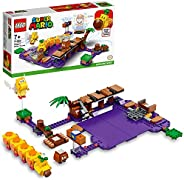 LEGO Super Mario Wiggler's Poison Swamp Expansion Set 71383 Building Kit; Unique Gift Toy Playset for Creative