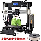 #8: High Precision Prusa I3 Printer with special offer 1 Roll PLA Filaments and 8Gb SD card free